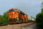 BNSF 6272 Leads The MEMGAl nb.